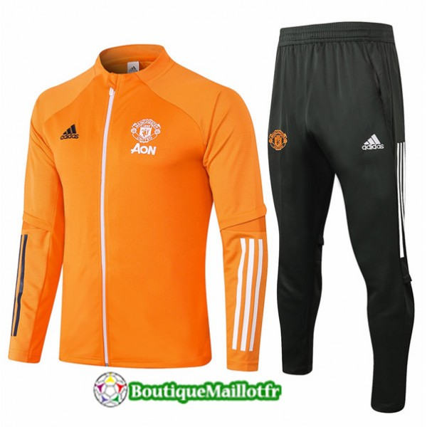 Veste Survetement Manchester United Enfant 2020 Or...