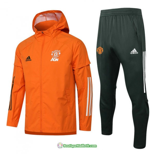 Coupe Vent Manchester United 2021 2022 Orange