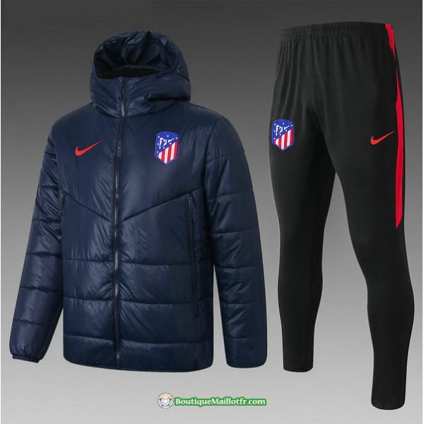 Doudoune Atletico Madrid 2020 2021 Bleu Marine