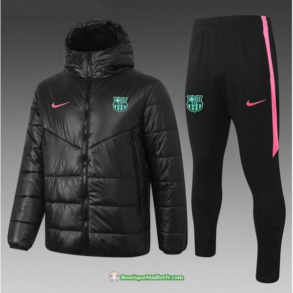 Doudoune Barcelone 2020 2021 Noir/rose