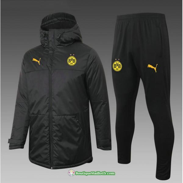 Doudoune Borussia Dortmund 2020 2021 Noir