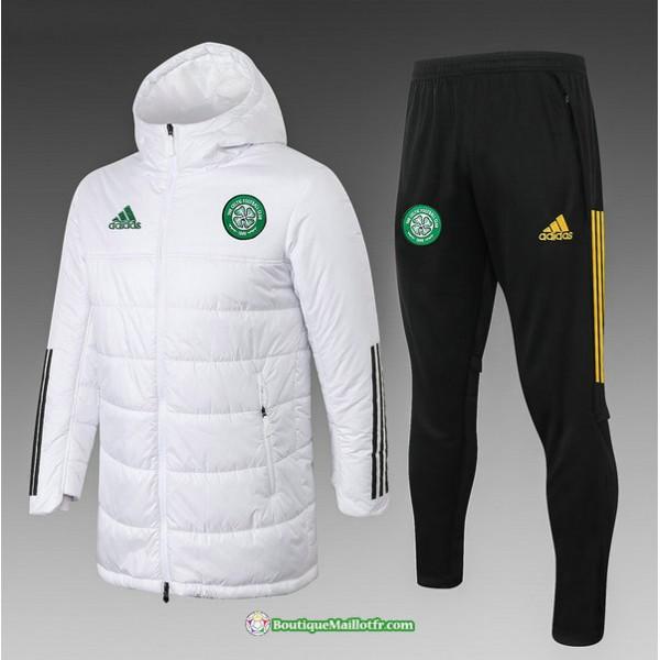 Doudoune Celtic 2020 2021 Blanc
