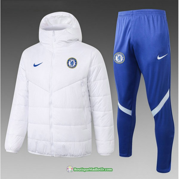 Doudoune Chelsea 2020 2021 Blanc