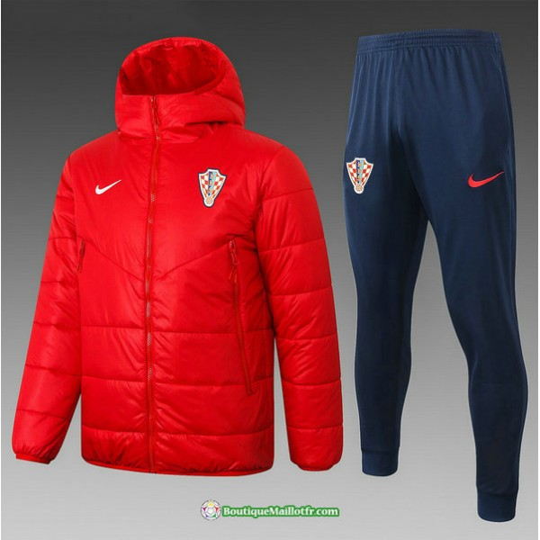 Doudoune Croatie 2020 2021 Rouge