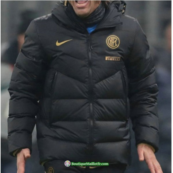 Doudoune Inter Milan 2020 2021 Noir