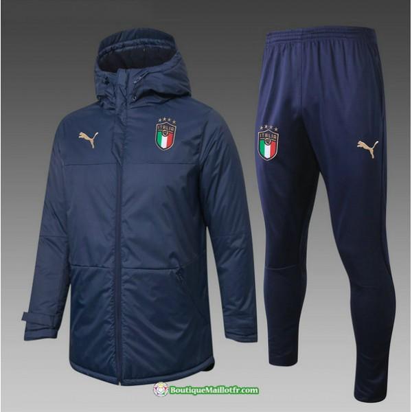 Doudoune Italie 2020 2021 Bleu Marine