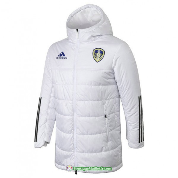 Doudoune Leeds United 2020 2021 Blanc