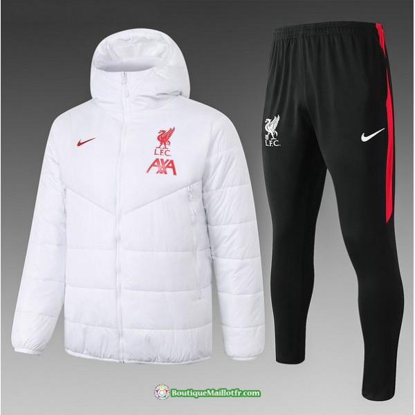 Doudoune Liverpool 2020 2021 Blanc