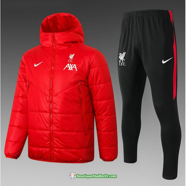 Doudoune Liverpool 2020 2021 Rouge