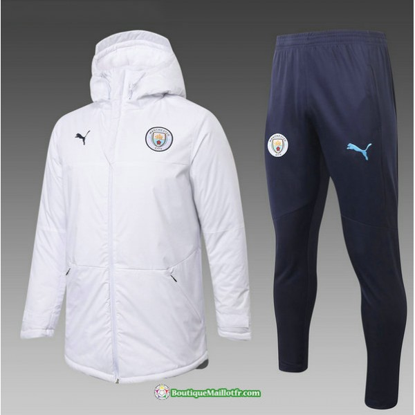 Doudoune Manchester City 2020 2021 Blanc