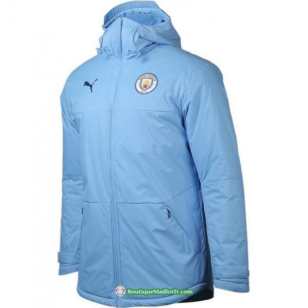 Doudoune Manchester City 2020 2021 Bleu Clair