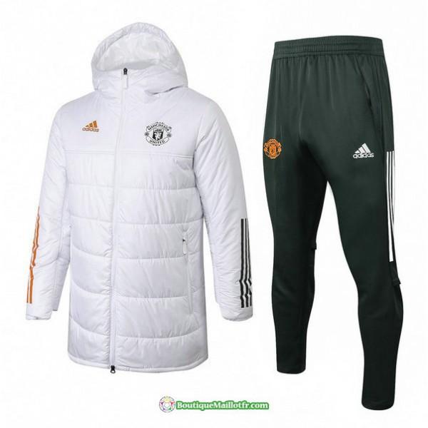Doudoune Manchester United 2020 2021 Blanc