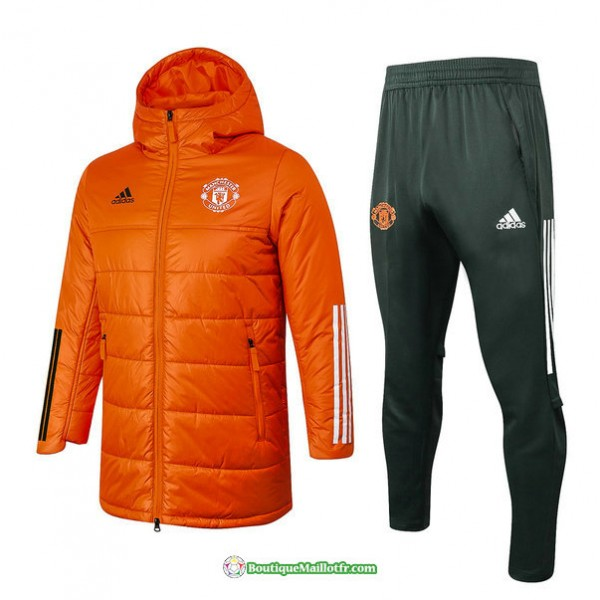 Doudoune Manchester United 2020 2021 Orange