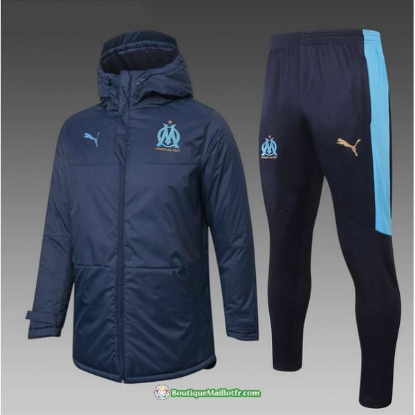 Doudoune Marseille 2020 2021 Bleu Marine
