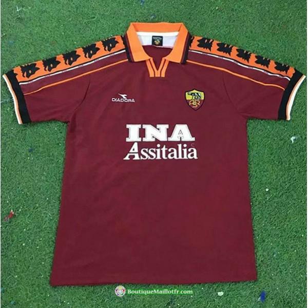 Maillot As Rome Retro 1998 99 Domicile
