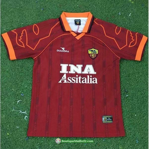 Maillot As Rome Retro 1999 00 Domicile