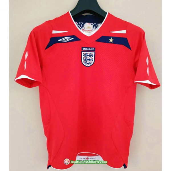 Maillot Angleterre Retro 2008 2010 Exterieur