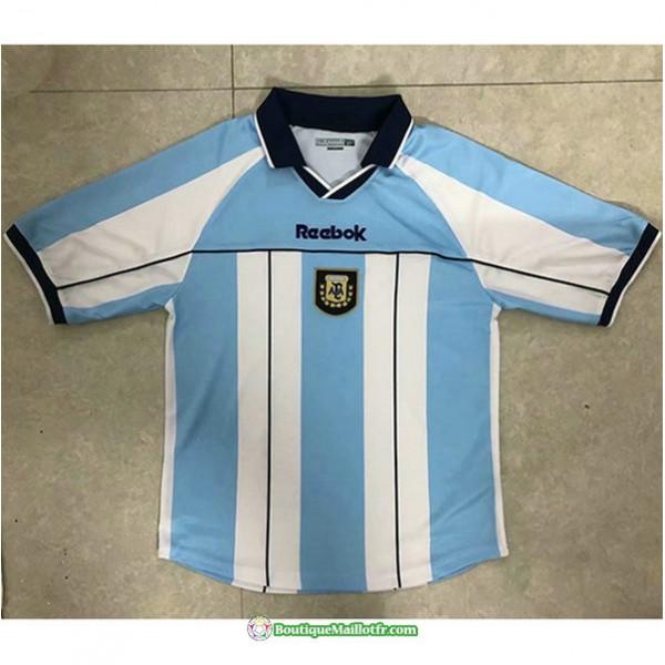 Maillot Argentine Retro 2000 01 Domicile