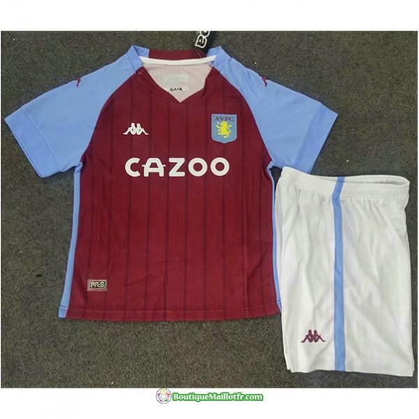 Maillot Aston Villa Enfant 2020 2021 Domicile