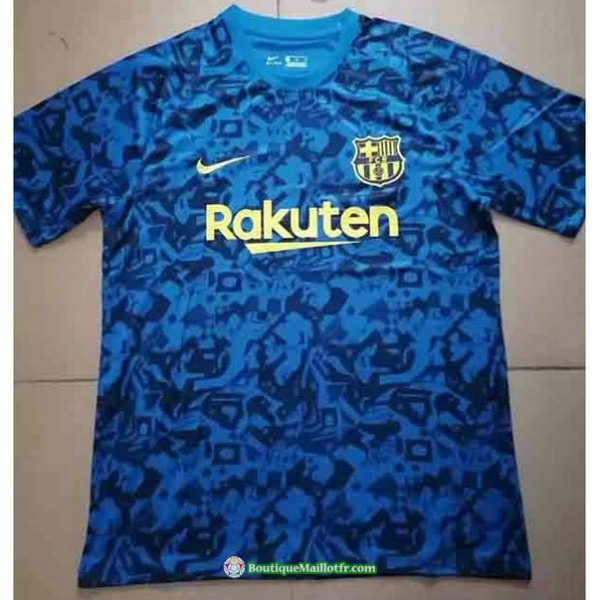 Maillot Barcelone 2021 2022 Pre Match Training Ble...