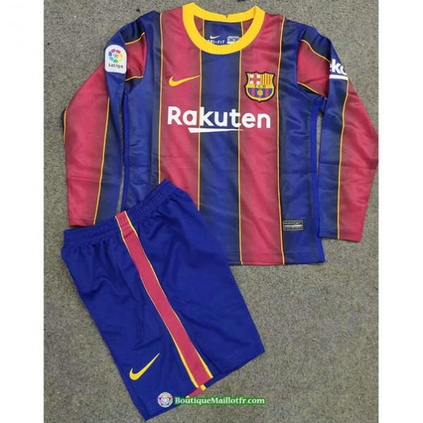 Maillot Barcelone Enfant 2020 2021 Domicile Manche...