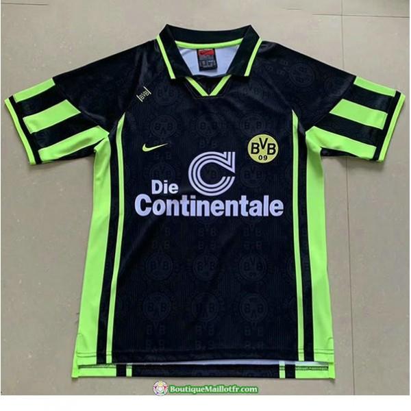 Maillot Borussia Dortmund Retro 1996 Exterieur Noi...