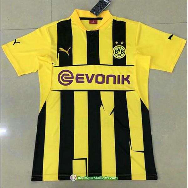 Maillot Borussia Dortmund Retro 2012 13 Domicile
