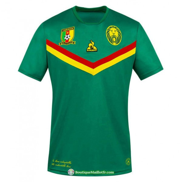 Maillot Cameroun 2020 2021 Domicile Vert
