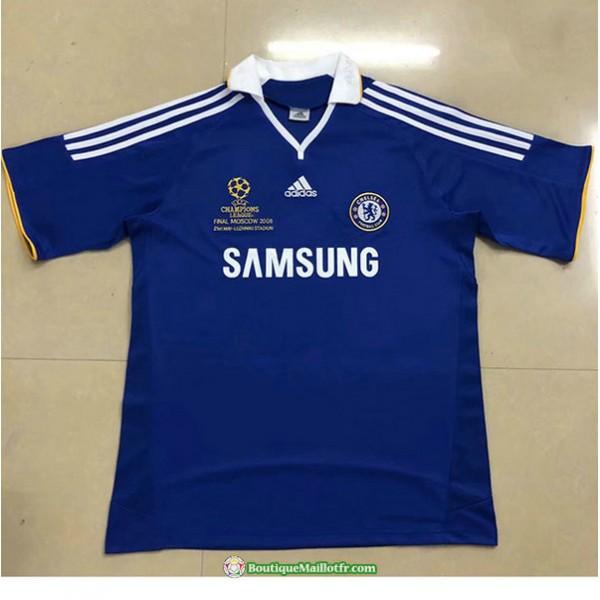 Maillot Chelsea Retro 2007 08 Domicile Champions L...