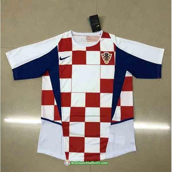Maillot Croatie Retro 2002 Domicile