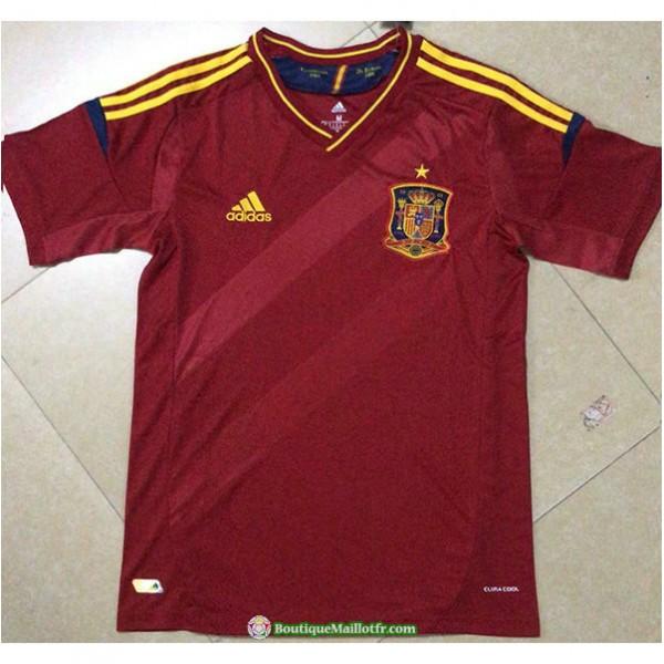 Maillot Espagne Retro 2012 Domicile