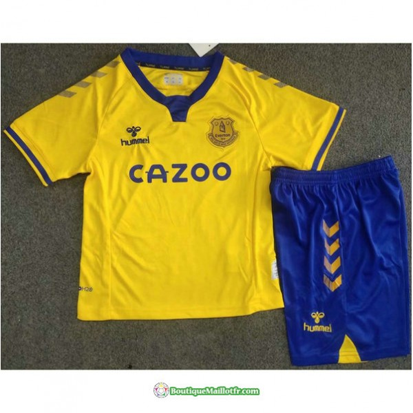 Maillot Everton Enfant 2020 2021 Exterieur