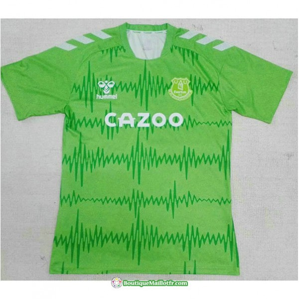 Maillot Everton Vert 2020 2021