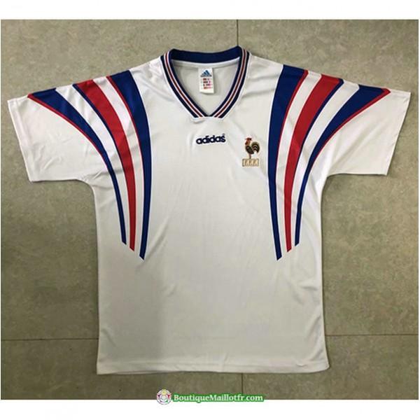 Maillot France Retro 1996 Exterieurblanc