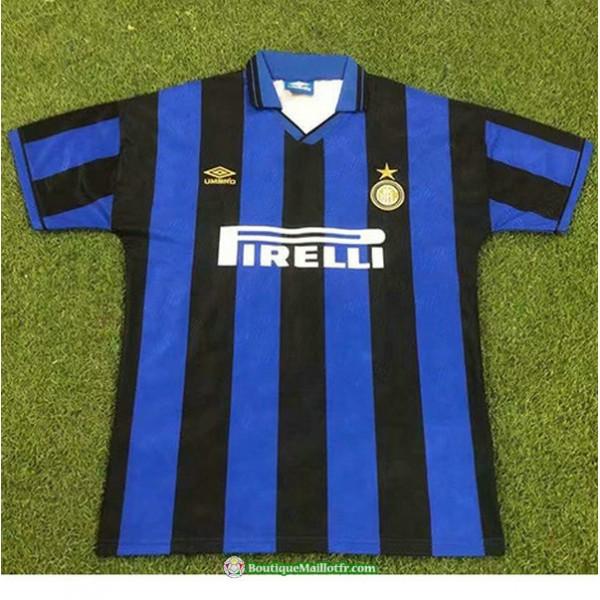 Maillot Inter Milan Retro 1995 96 Domicile