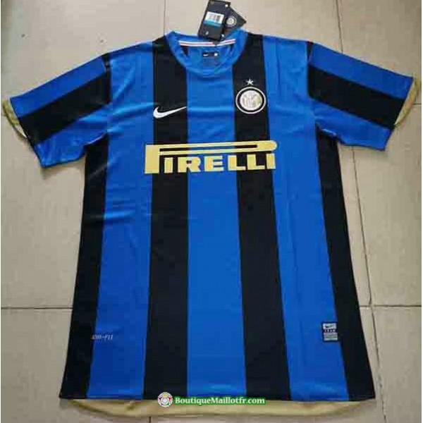 Maillot Inter Milan Retro 2008 09 Domicile
