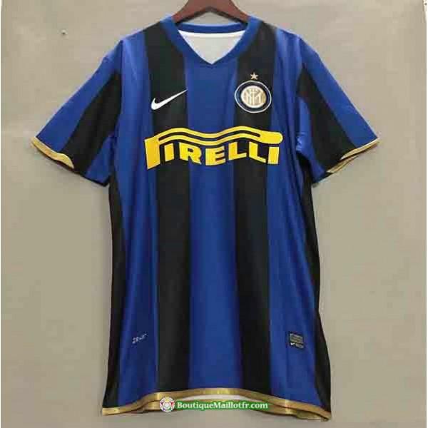 Maillot Inter Milan Retro 2008 2009 Domicilechampi...