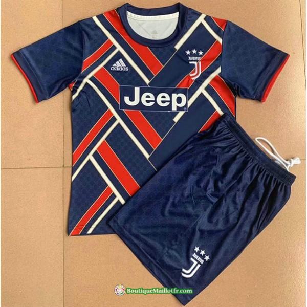 Maillot Juventus Enfant 2021 2022 Bleu /rouge