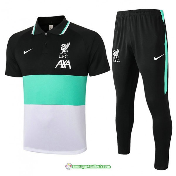 Maillot Kit Entraînement Liverpool Polo 2020 2021...