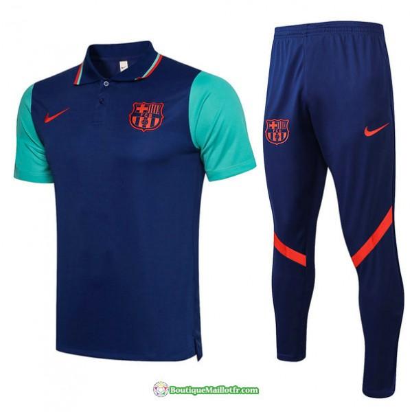 Maillot Kit Entraînement Polo Barcelone 2021 2022...