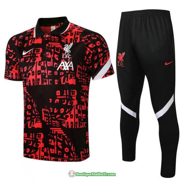Maillot Kit Entraînement Polo Liverpool 2021 2022...