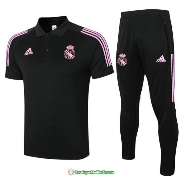 Maillot Kit Entraînement Real Madrid Polo 2020 20...