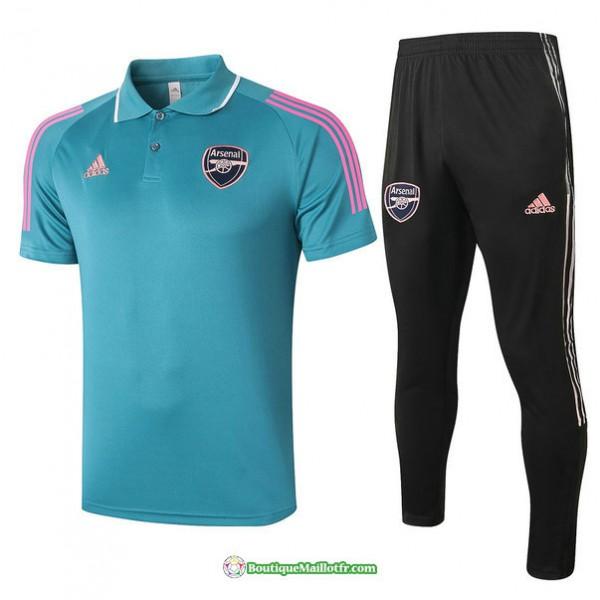 Maillot Kit Entraînement Polo Arsenal 2021 2022 T...