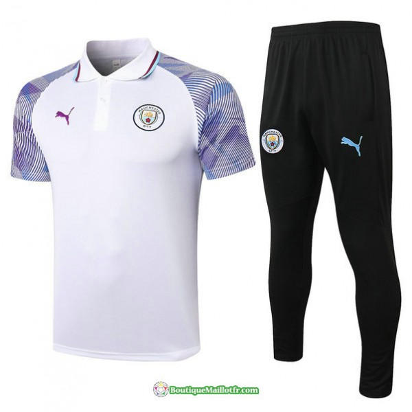 Maillot Kit Entraînement Polo Manchester City 202...