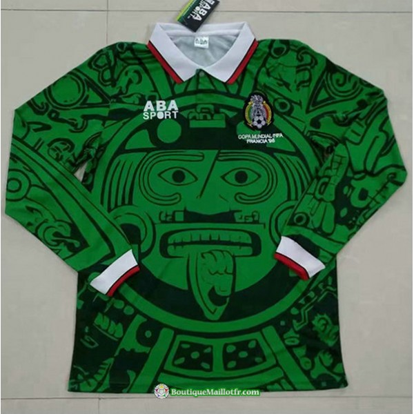 Maillot Mexique Retro 1998 Manche Longue