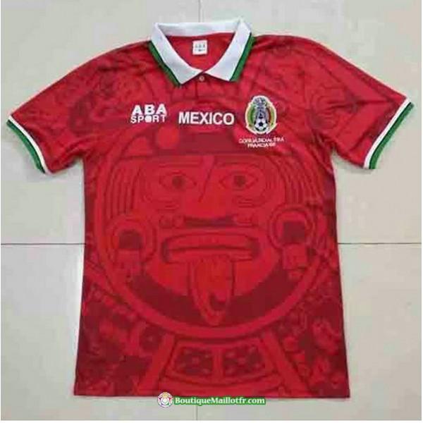 Maillot Mexique Retro 1998 Rouge