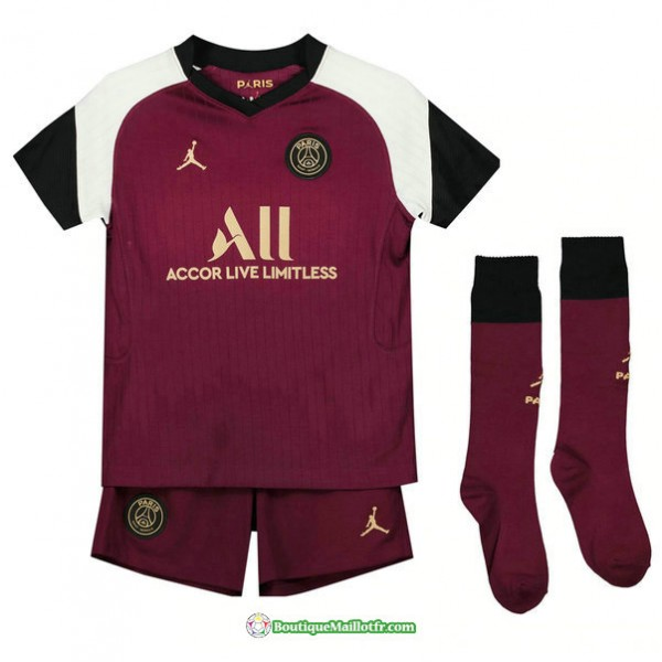 Maillot Paris Saint Germain Enfant 2020 2021 Third