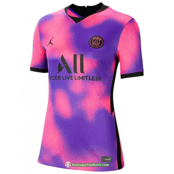 Maillot Paris Saint Germain Femme 2020 2021 Fourth