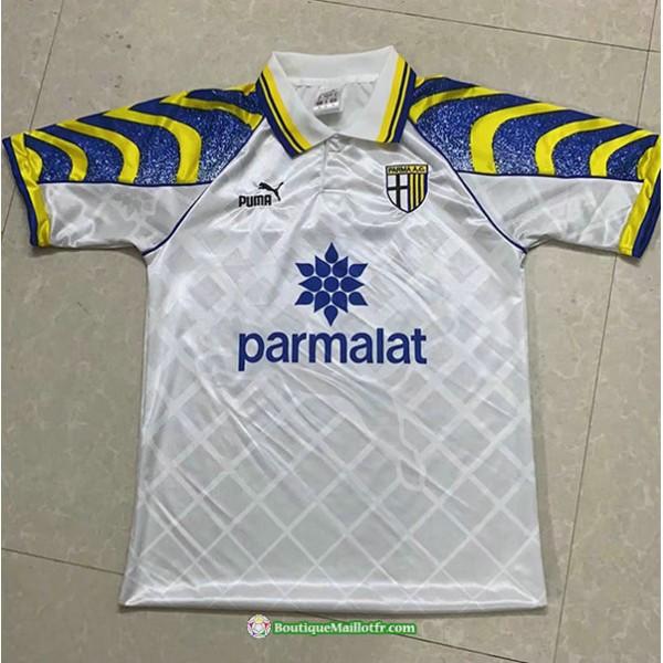 Maillot Parme Calcio Retro 1995 97 Blanc