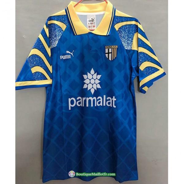 Maillot Parme Calcio Retro 1995 97 Bleu